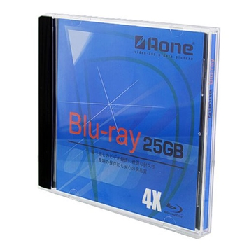 Picture of Aone (Blu-ray) BD-R 25GB 4x Speed Single Layer Disc (JEWEL CASE)