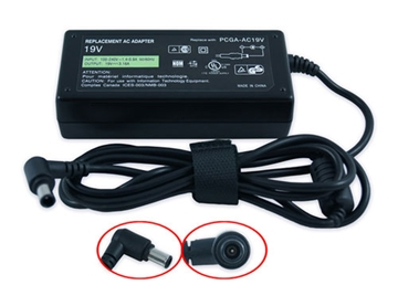 Picture of Sony Laptop Replacement Charger 19.5V 4.7A 90W 6.0x4.4 Tip