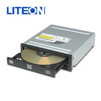 Picture of LiteOn IHAS124 24x Internal DVDRW Writer Black SATA (OEM)