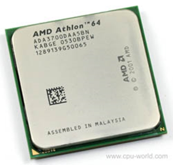 Picture of AMD Athlon 64 3700+ Socket 939 - ADA3700DAA5BN