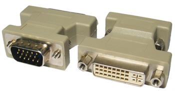 Picture of Adaptor DVI-I Female to VGA Male