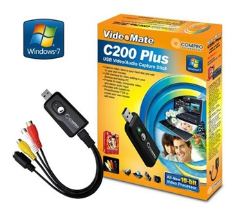Picture of Video Capture USB2 Stick Compro C200 Plus USB2 Stick