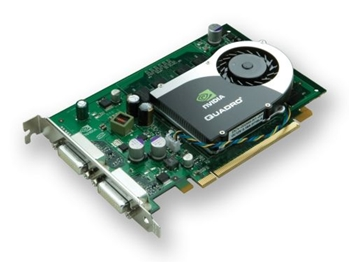 Picture of Nvidia Quadro FX570 PCI-E 256MB DVI Graphics Card
