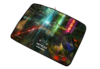 Picture of Gaming Mouse Pad Nemesis Futuristic Neon Waterproof