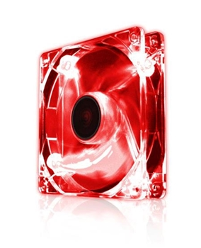 Picture of EZ Cool 80mm LED Fan, Diamond Red Super Silent