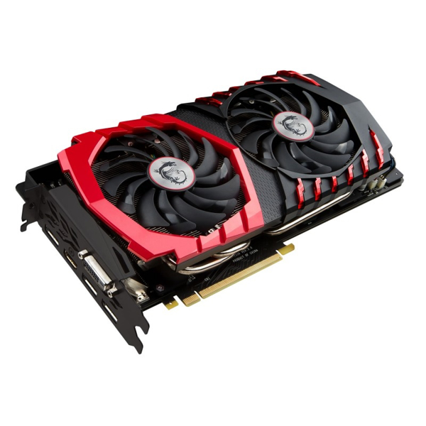 Picture of MSI GeForce GTX 1080 GAMING X 8GB GDDR5X 2560 Core VR Ready Graphics Card with Twin Frozr VI + RGB LEDs