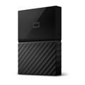 Picture of Western Digital MyPassport 1TB, Portable hard drive, Black
