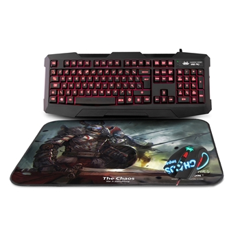 Picture of Kane Pro Edition 3 in 1 Gaming Keyboard Mouse and Mouse Pad