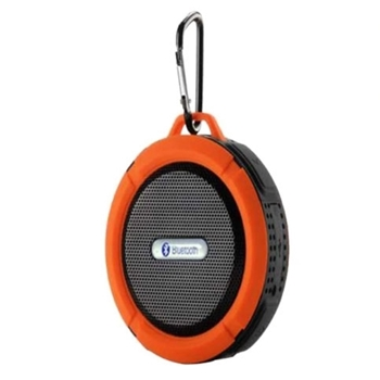 Picture of Portable Bluetooth  Water Resistant  Speakers Phone Hands-free Calls For Laptop Smartphone MP3 Orange