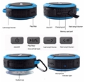 Picture of Portable Bluetooth  Water Resistant  Speakers Phone Hands-free Calls For Laptop Smartphone MP3 Blue