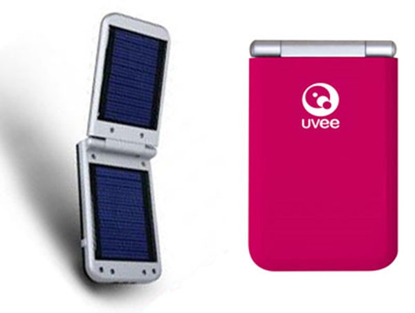 Picture of UVEE UVSC-1s Universal Solar Battery Charger Pink