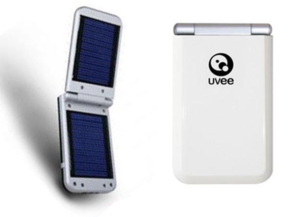 Picture of UVEE UVSC-1s Universal Solar Battery Charger White