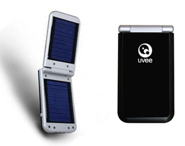 Picture of UVEE UVSC-1s Universal Solar Battery Charger Black
