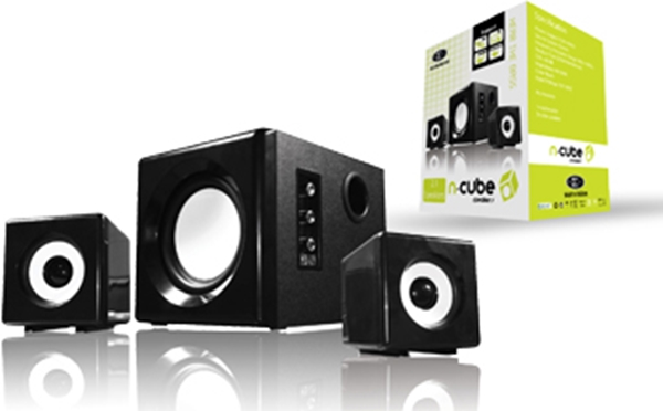 Picture of Sumvision n cube 2.1 Stereo Speaker System - Retail