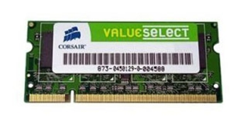 Picture of Corsair Value Select 512Mb SODIMM PC3200 DDR 400MHz 200pin