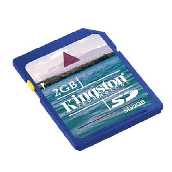 Picture of Kingston 2GB SD Memory Card  Not HC