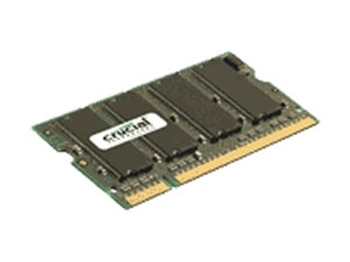 Picture of Crucial 2GB DDR2 667MHz/PC2-5300 Laptop Memory SODIMM