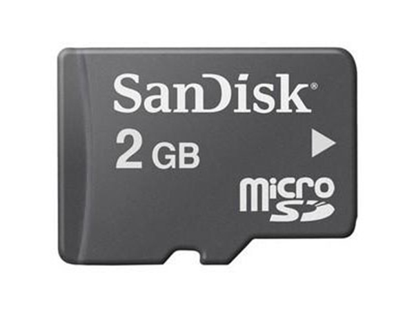 Picture of SanDisk microSD 2 GB