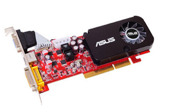 Picture of Asus AH3450/HTP/512M Graphics Card Radeon HD 3450 512MB AGP VGA