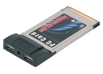 Picture of PCMCIA 2 Port USB 2.0 Cardbus