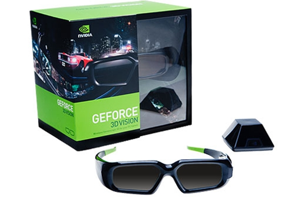 Picture of nVIDIA GeForce 3D Vision Glasses