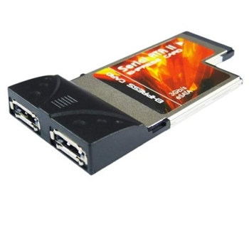 Picture of 2 Port SATA PCMCIA ExpressCard