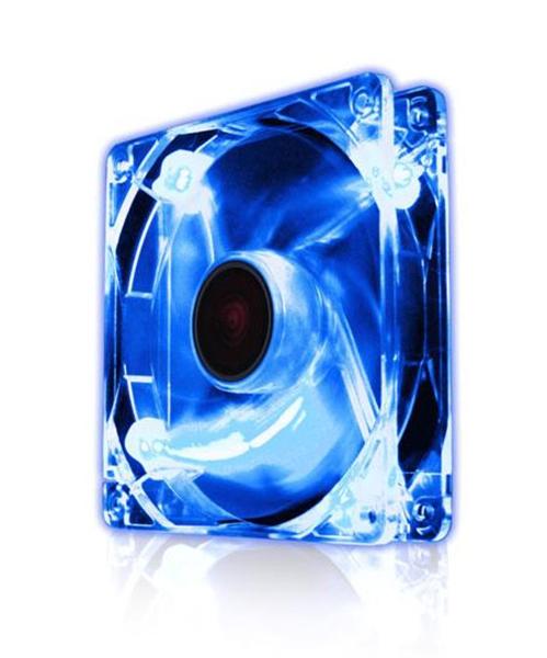 Picture of EZ Cool 80mm LED Fan, Polar Blue Super Silent