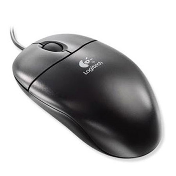 Picture of Logitech Optical Wheel mouse Black OEM