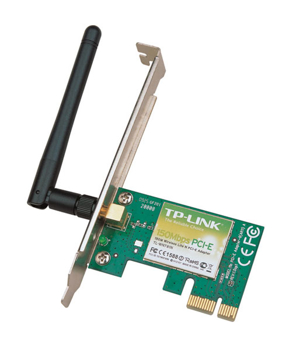 Picture of TP Link 300Mbps Wireless Lite N PCI Express Adapter