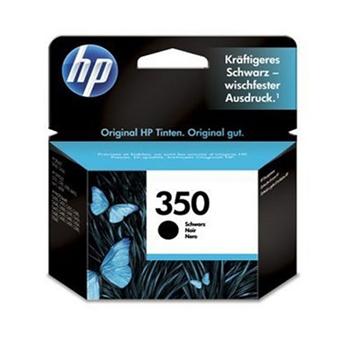 Picture of HP 350 Black Inkjet Print Cartridge (Original) CB335EE UUS