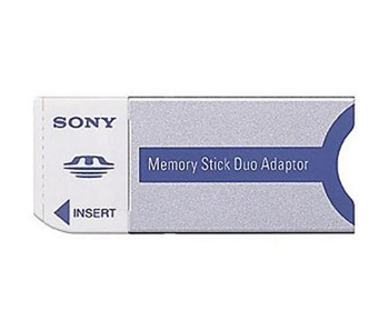Picture of Sony Memory Stick Duo Adaptor MSACM2NO