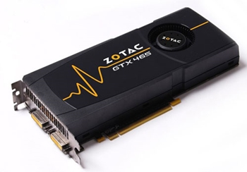 Picture of Zotac NVIDIA GTX 465 Graphics Card ZT-40301-10P - 1GB Zotac GTX