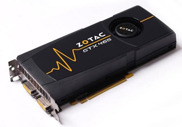 Picture of Zotac NVIDIA GTX 465 Graphics Card ZT-40301-10P - 1GB Zotac GTX
