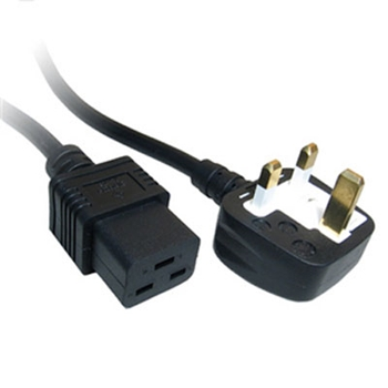 Picture of 2m UK C19 Mains Lead