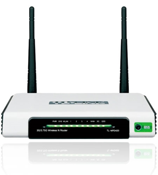 Picture of TP-LINK TL-MR3420 3G/3.75G Wireless N Router