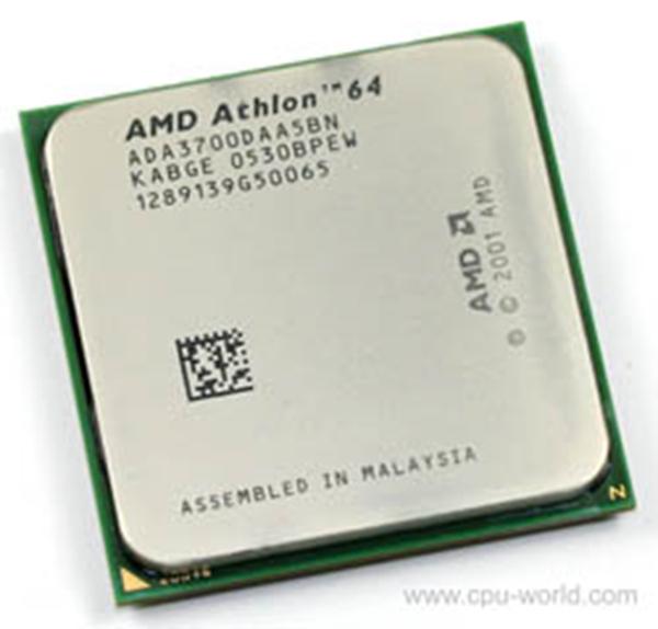Picture of AMD Athlon 64 3700+ Socket 939 - ADA3700DAA5BN