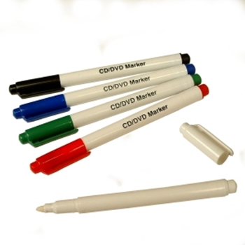 Picture of CD/DVD Marker Pens 4 Pack