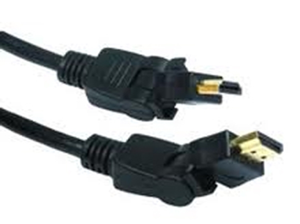 Picture of 2m HDMI Rotate and Swivel Cable