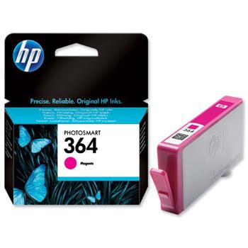Picture of Original HP 364 Magenta Ink Cartridges for HP Photosmart Printers
