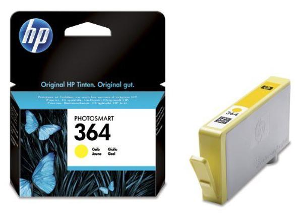 Picture of Original  HP 364 Yellow Ink Cartridge