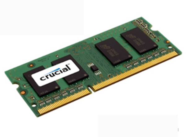 Picture of Crucial 2GB DDR3 1066MHz/PC3-8500 Laptop Memory