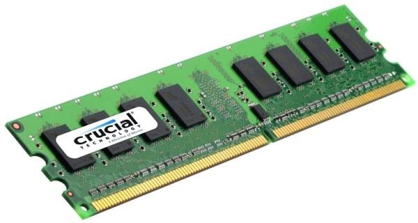 Picture of Crucial 2GB PC3-8500 1066MHz DDR3 240-pin