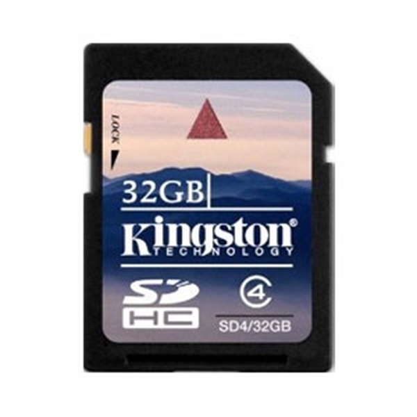 Picture of Kingston 32GB SD Card - Class 4