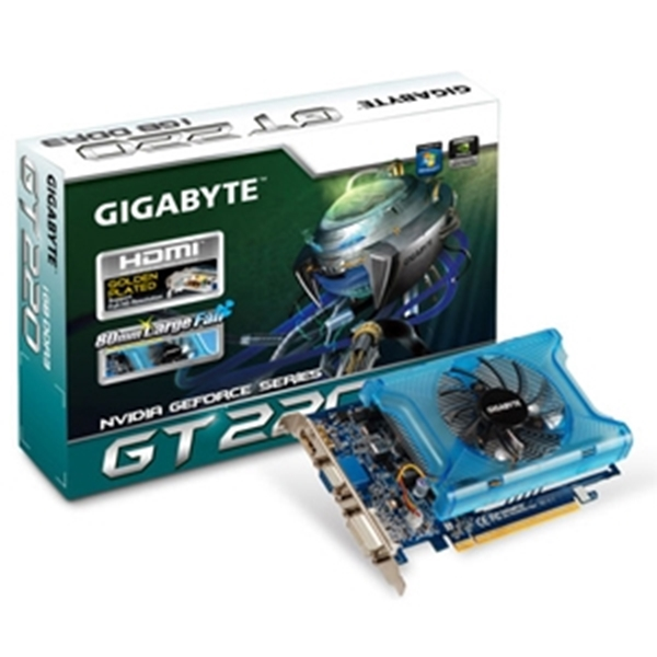 Picture of Gigabyte GT220 1GB DDR3 DVI VGA HDMI Out PCI-E