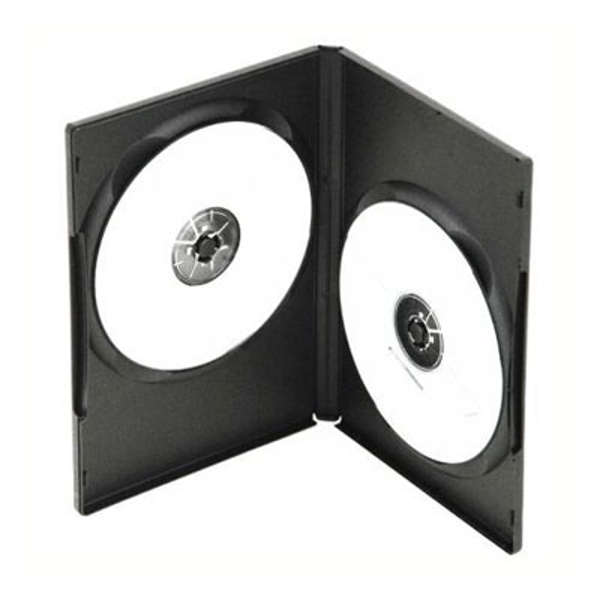 Picture of Standard Double DVD Storage Cases