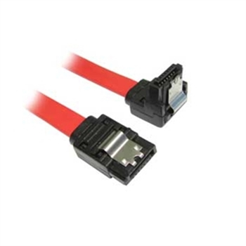 Picture of SATA Cable with Right Angle with Lock Latch 90cm length