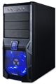 Picture of Phoenix Mid Tower Black Blue LED Mesh Front