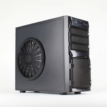 Picture of X-792 Black Mid Tower 22cm Side Fan