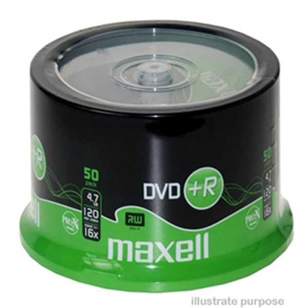 Picture of Maxell DVD +R 16x Branded