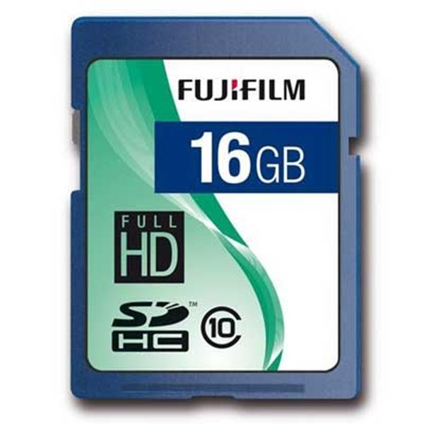 Picture of FujiFilm 16GB SD Card Class 10